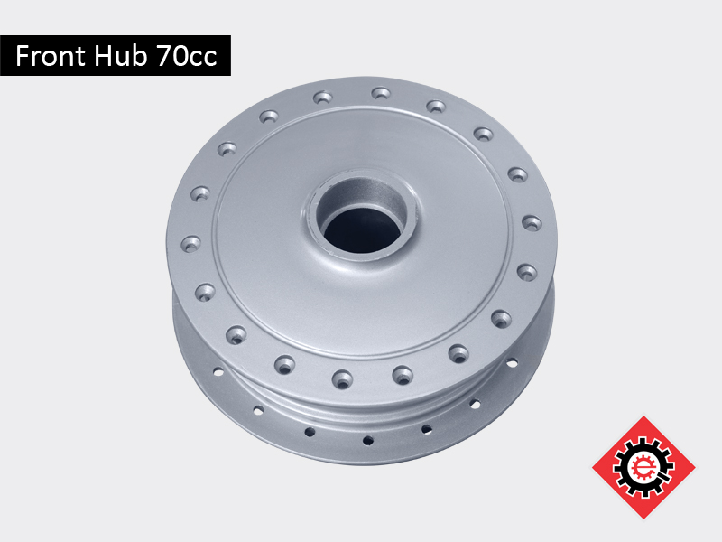 Front Hub 70cc