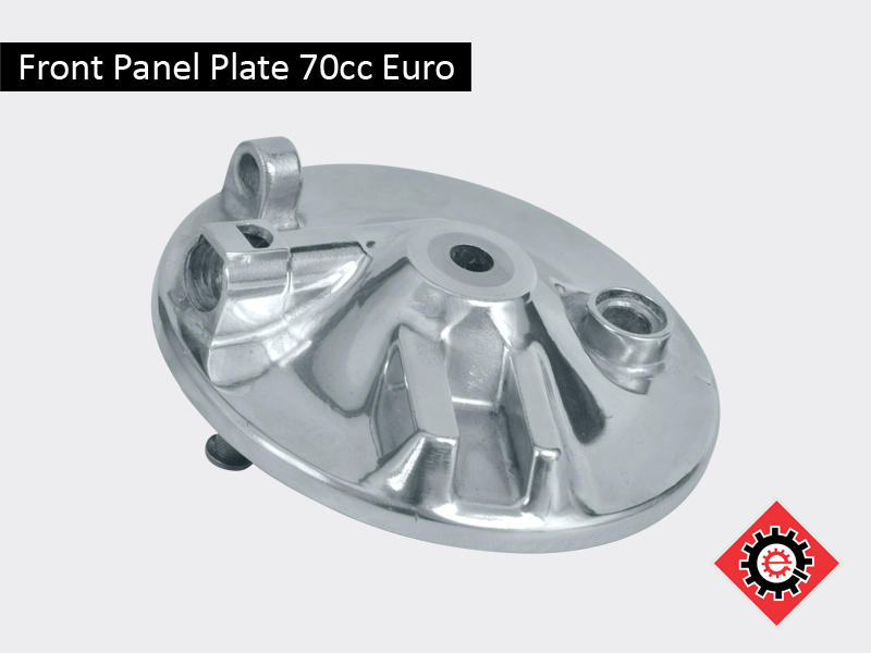 Front Panel Plate 70cc Euro