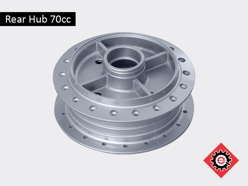 Rear Hub 70cc