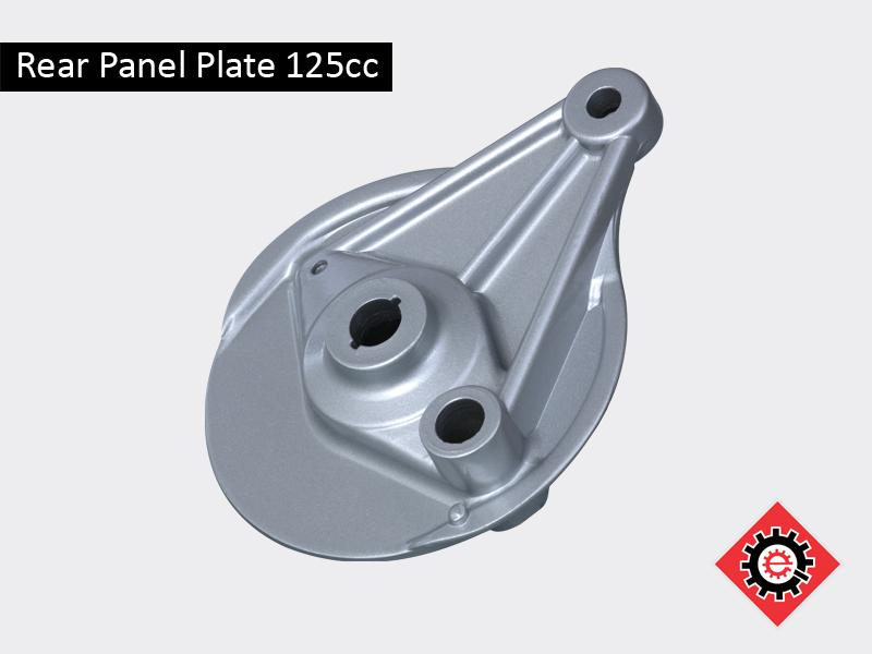 Rear Panel Plate 125cc