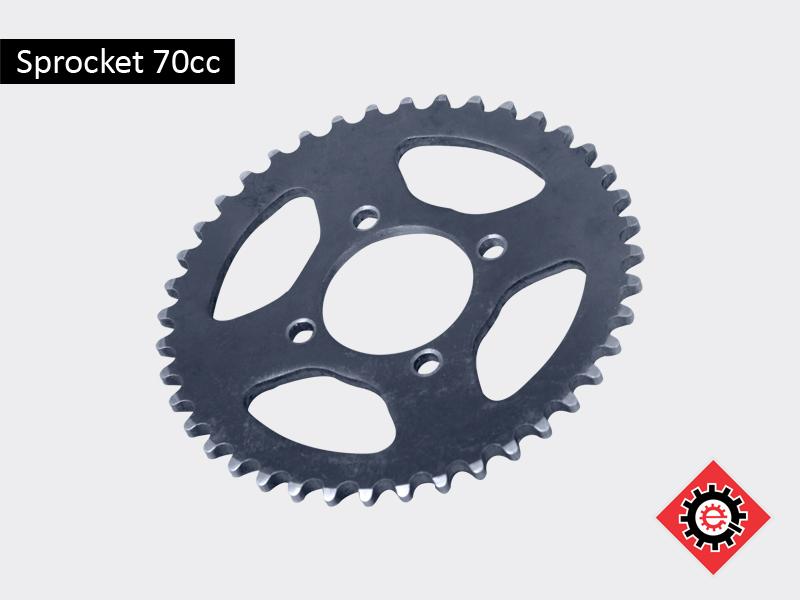 Sprocket 70cc